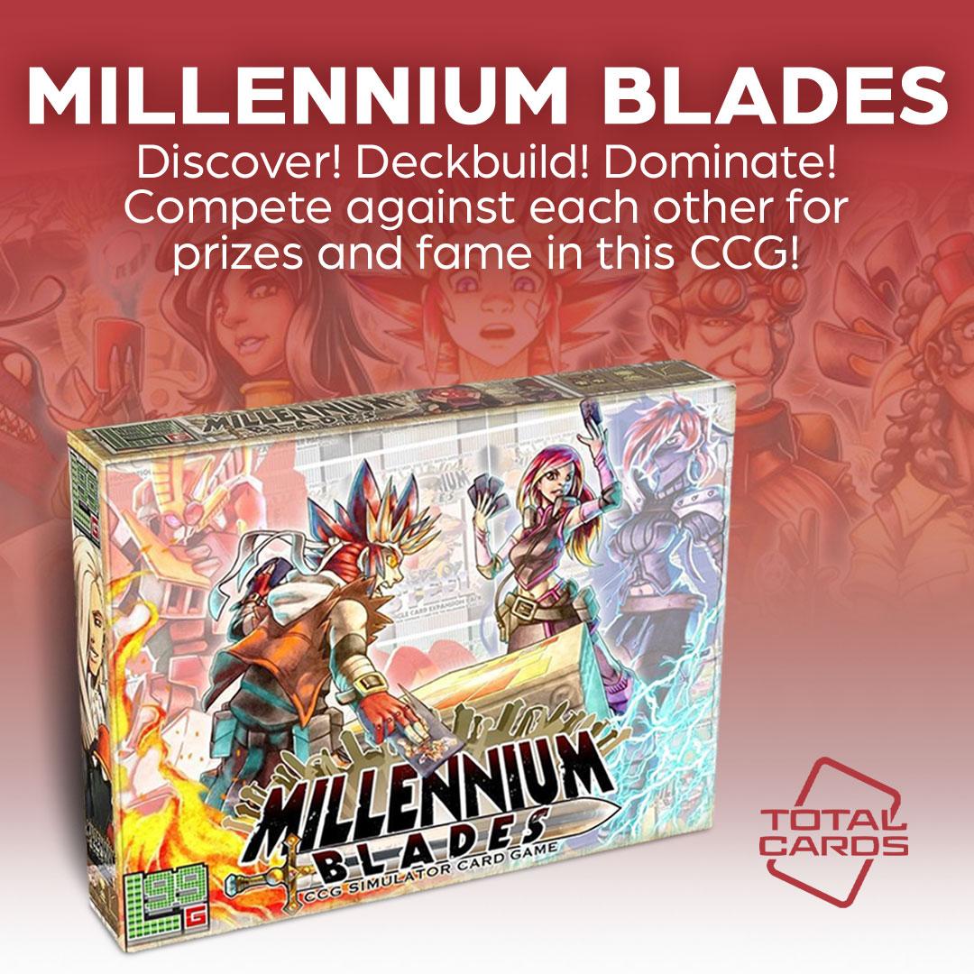 Become TCG World Champion in Millennium Blades!