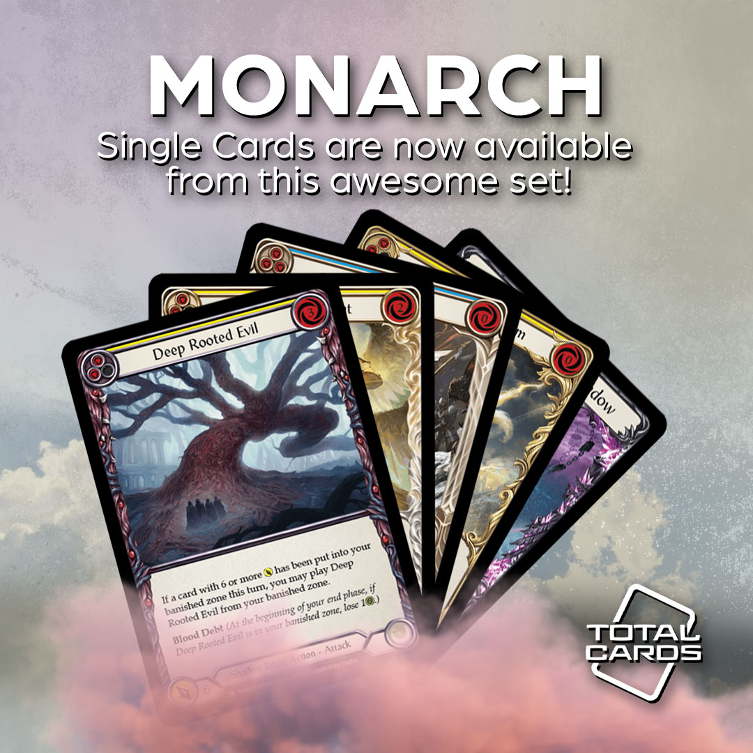 Monarch Single Cards Now Available!