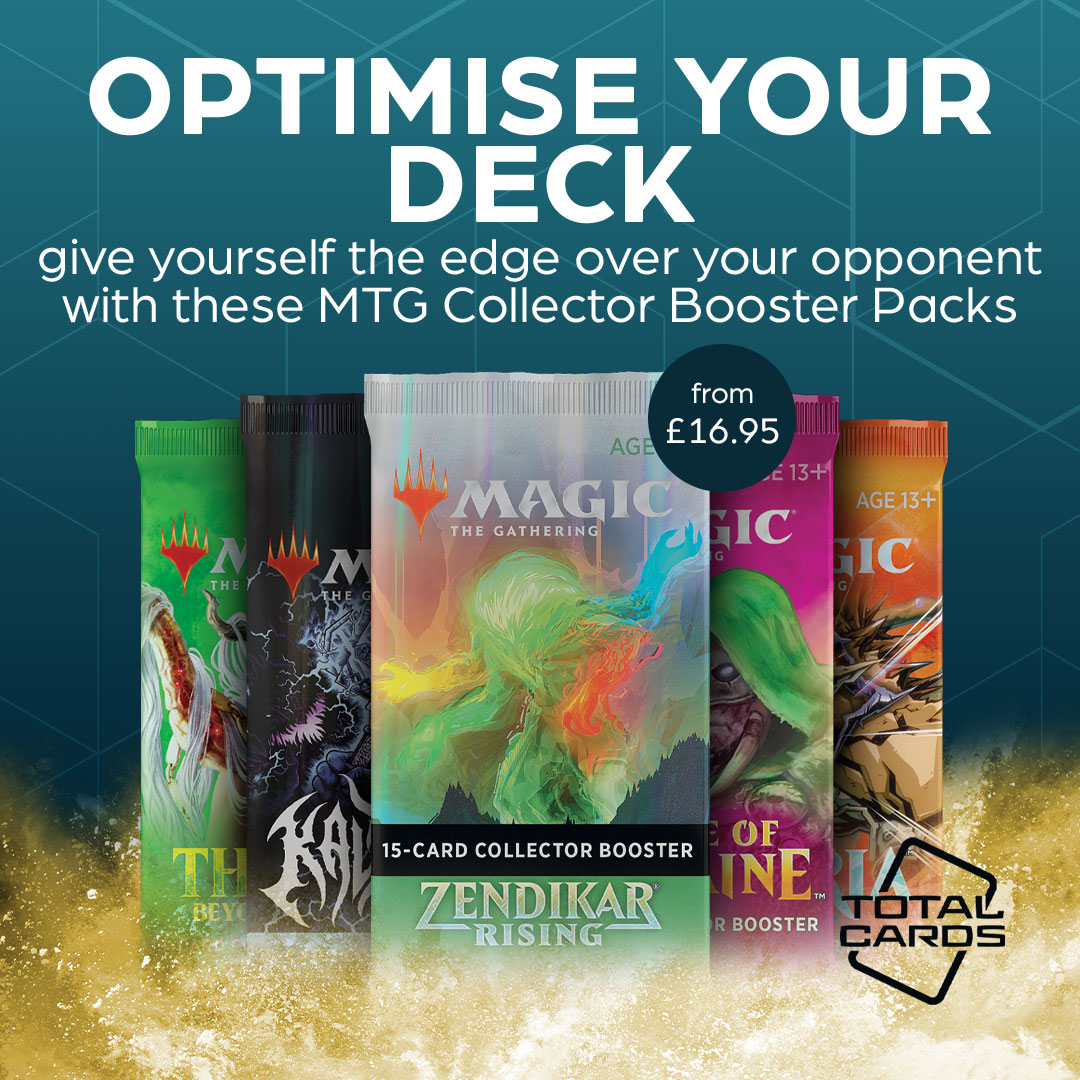 Discover rare Magic cards with these awesome Collector Boosters!