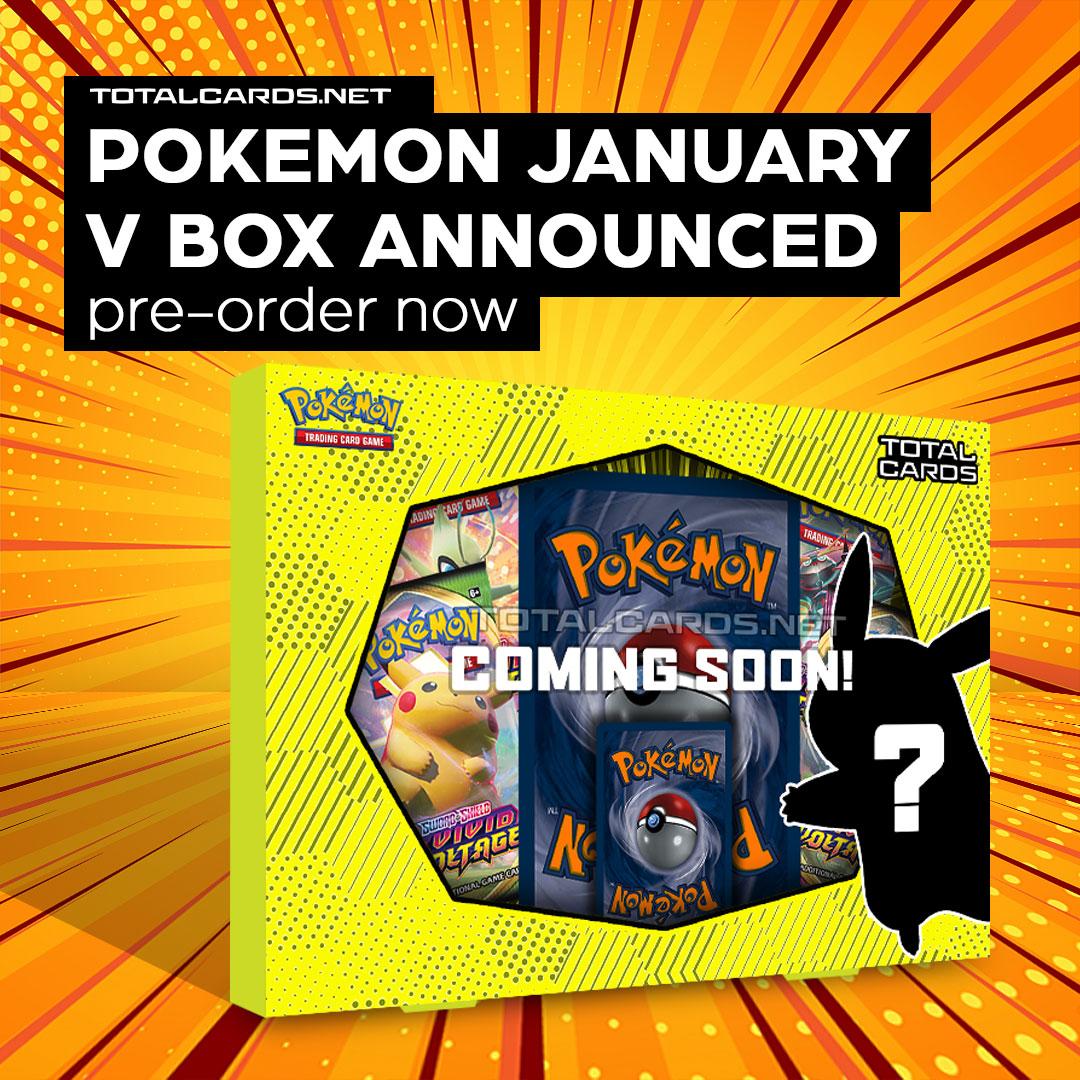 Pokemon January V Box Announced!!! The First V Box of 2021!?!?