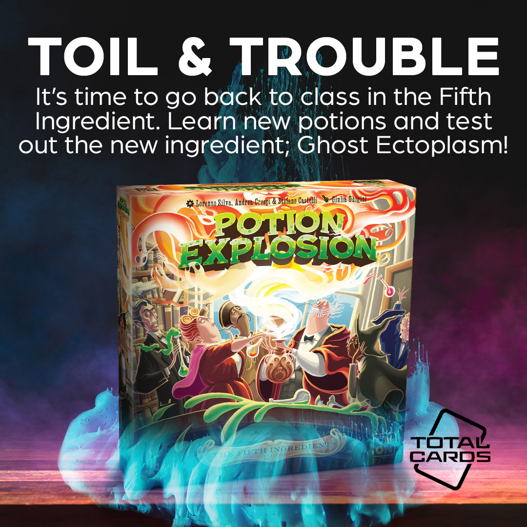 Step up your alchemical game with the Fifth Ingredient expansion for Potion Explosion!