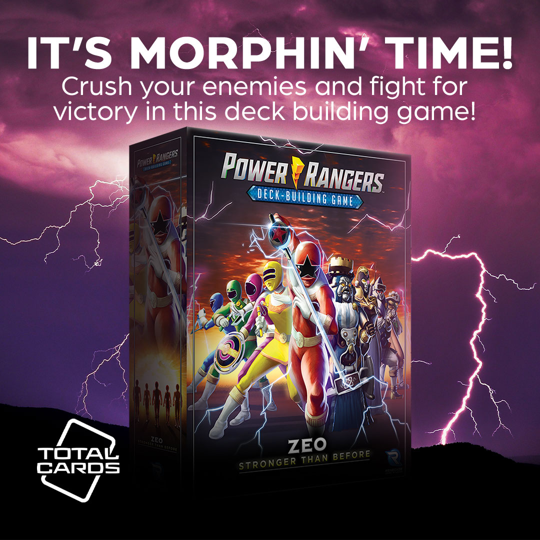 Save earth with the Power Rangers Deck Building Game!