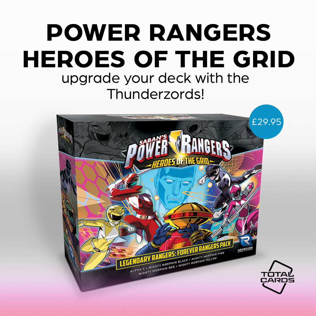 Power up with this awesome Power Rangers expansion!
