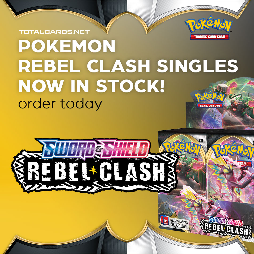Pokemon Rebel Clash Single Cards Now Available!!!