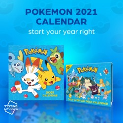 Kick Off 2021 in the Right Way With a Pokemon Calendar