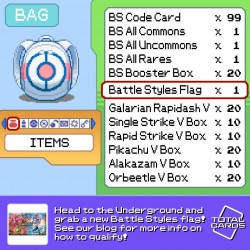 Capture the flag in our awesome Battle Styles promotion!