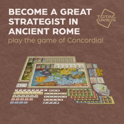 Become an expert strategist in Concordia!
