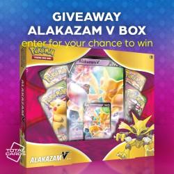 Pokemon - Alakazam V Box Giveaway!!