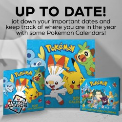 Keep your life organised with these epic Pokemon calendars!
