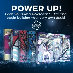 Start an awesome Pokemon deck with a V Collection Box!