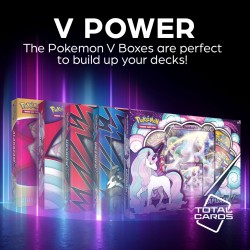 Build your deck around an awesome Pokemon V Box!