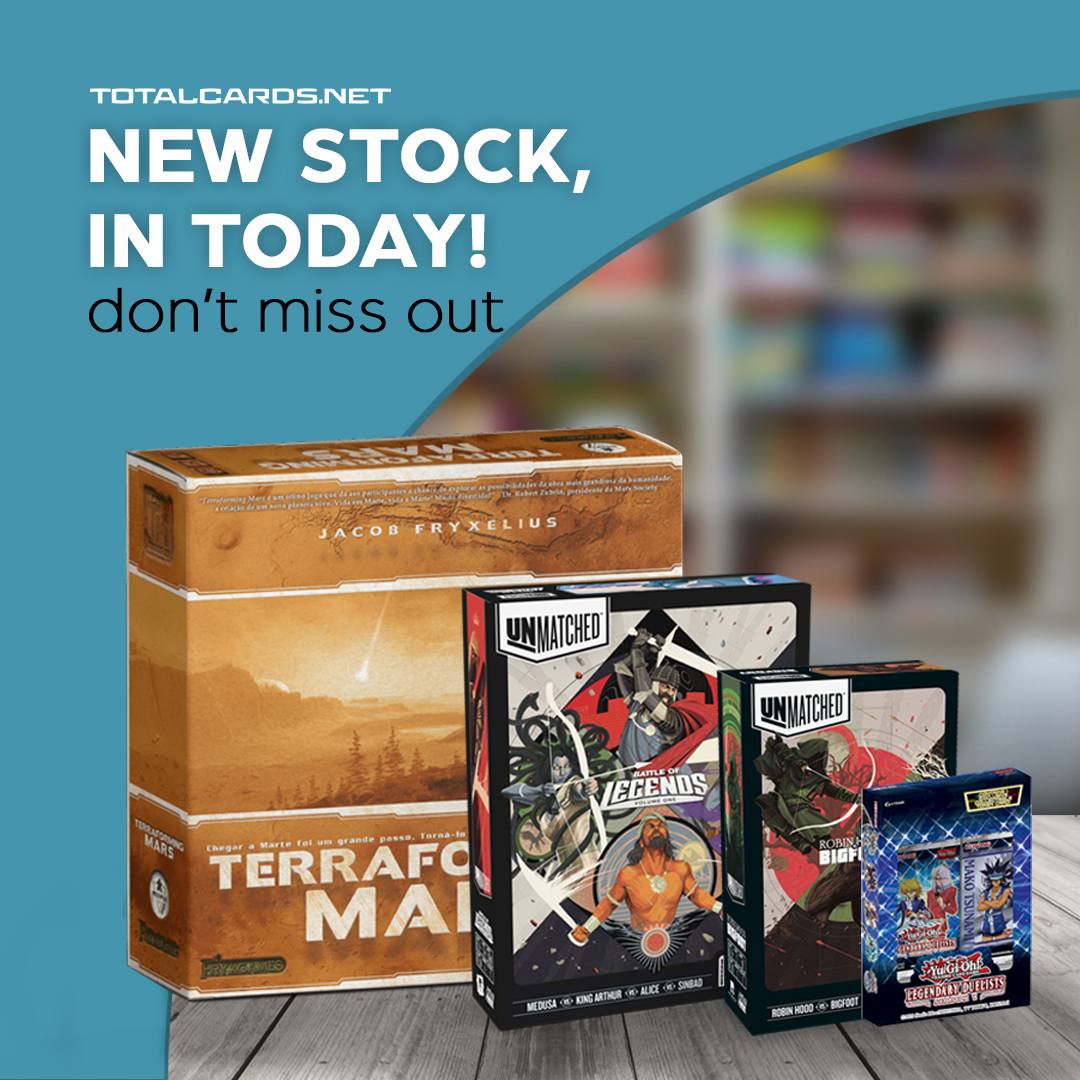 A restock to keep you busy this week!