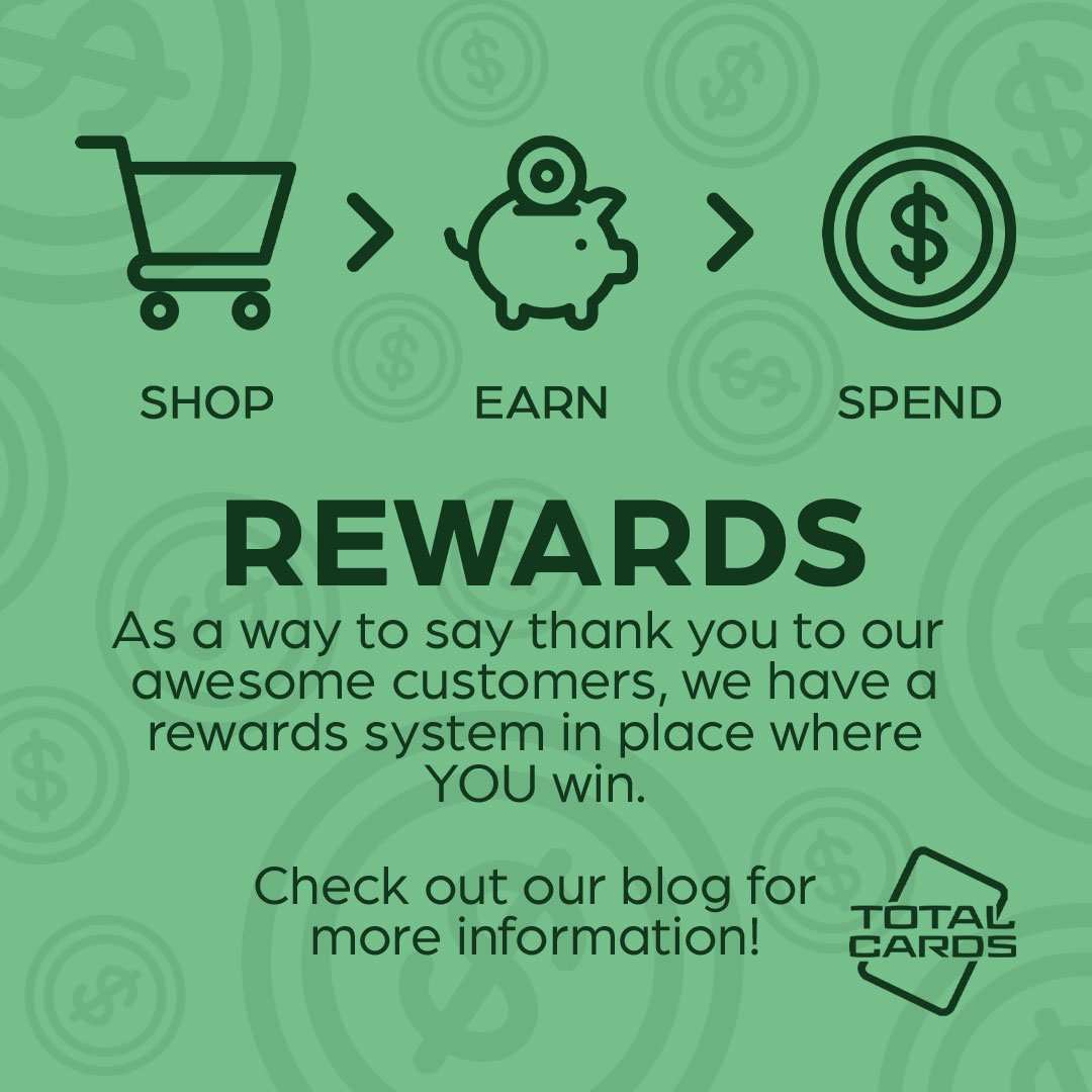 Gain more with Total Cards Reward Points!