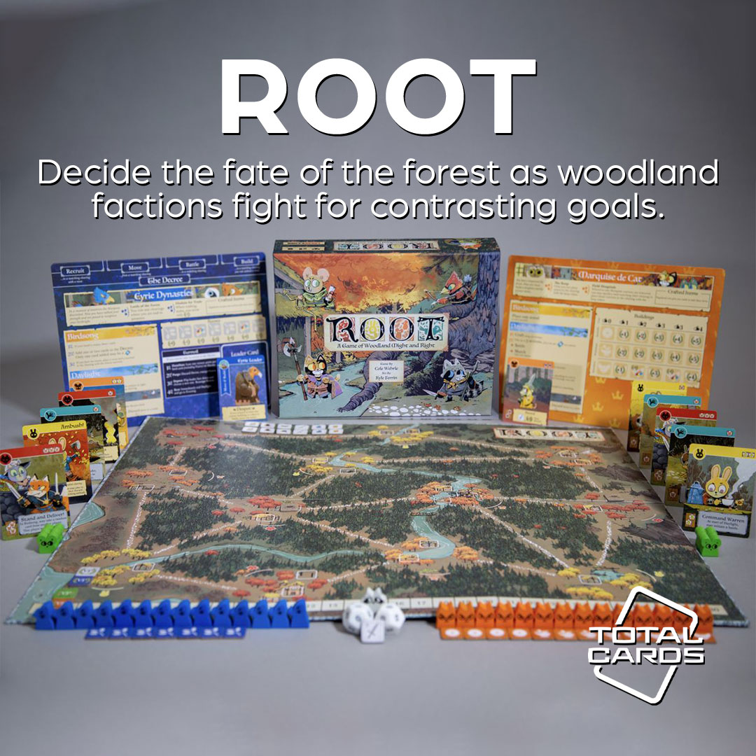Cement your rule over a mystical forest kingdom in Root!