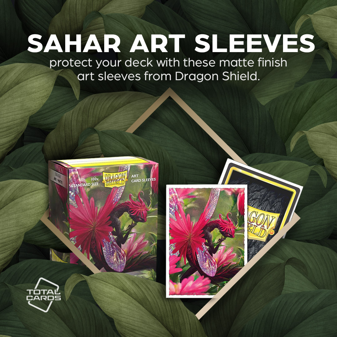 Keep your cards protected with the power of Sahar from Dragon Shield!