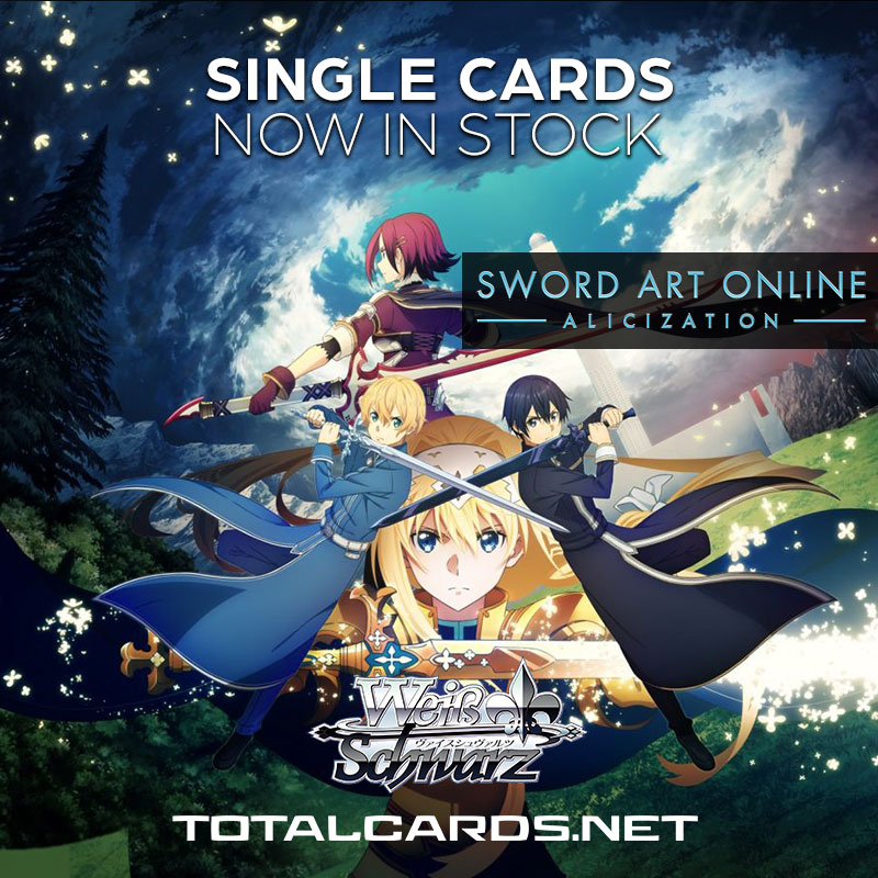 Weiss Schwarz Sword Art Online - Alicization Single Cards Available Now!!