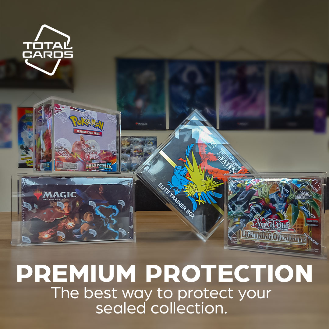 Take protection to the next level with Total Cards display boxes!