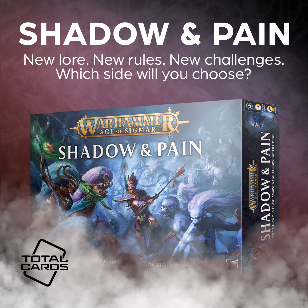 Fight for control of the mortal realms in Warhammer Shadow and Pain!