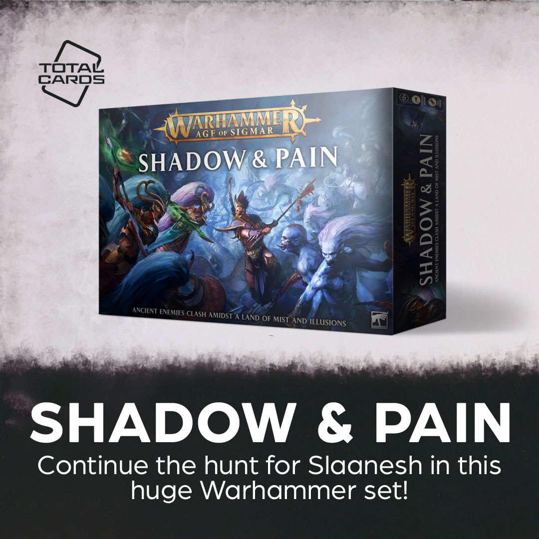 Warhammer Shadow and Pain is the ultimate way into Age of Sigmar!