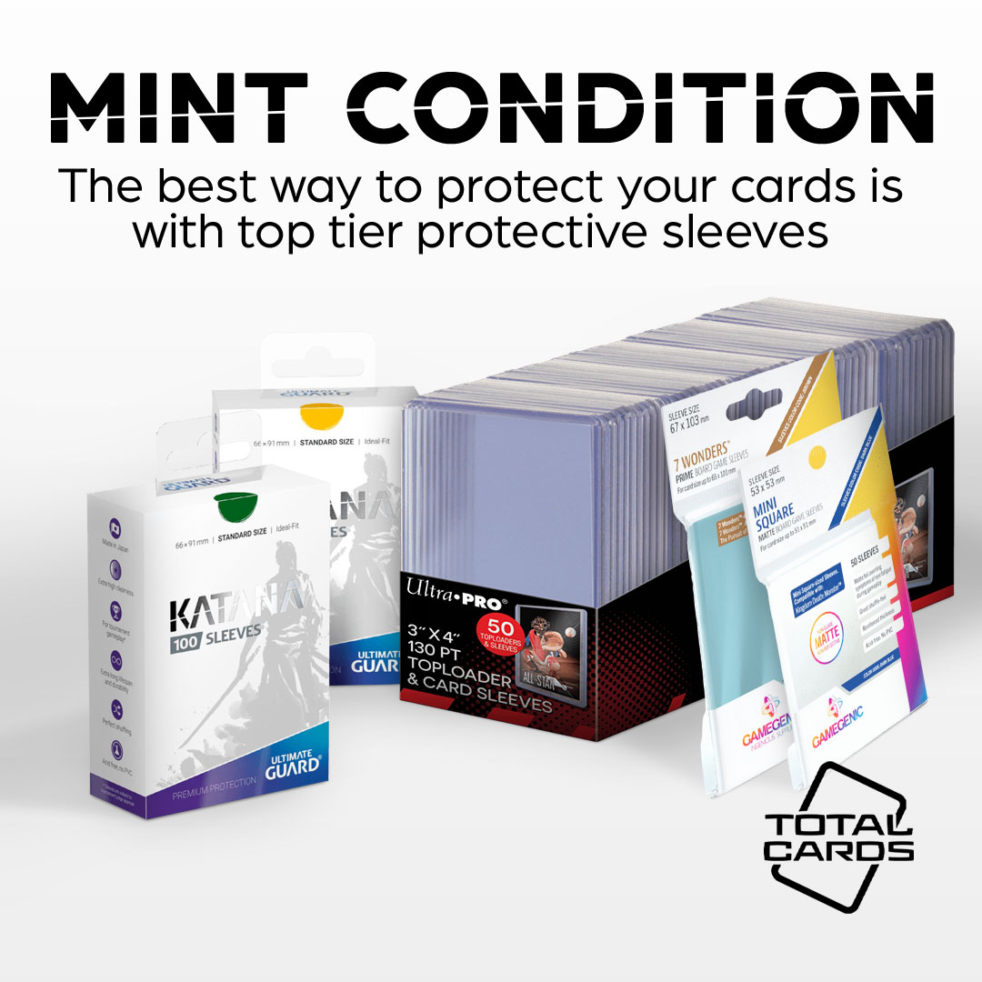 Protect your Cards with our wide array of sleeves!