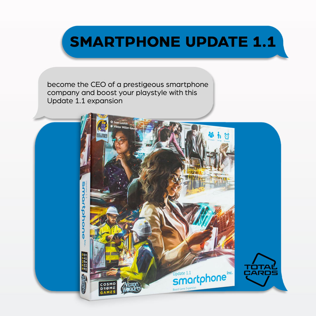 Upgrade your game of Smartphone Inc. with this awesome expansion!