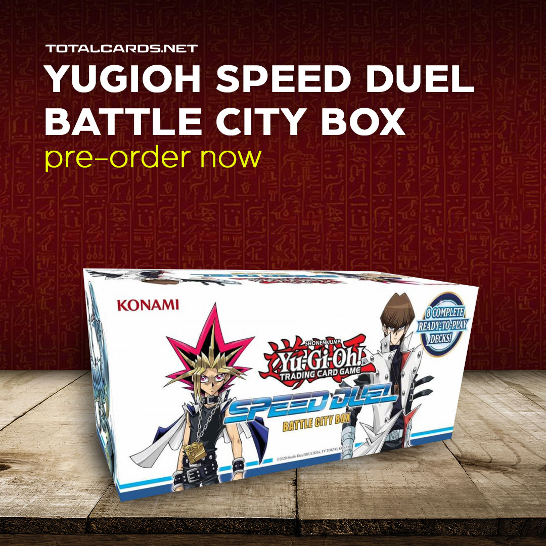 Yu-Gi-Oh! Speed Duel Box Set 1 Announced!!! The Egyption Gods are Coming!!!