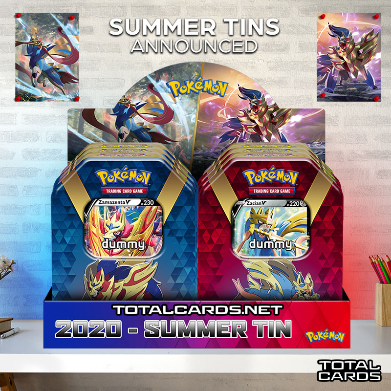 Pokemon Summer Tins 2020 Announced!!!