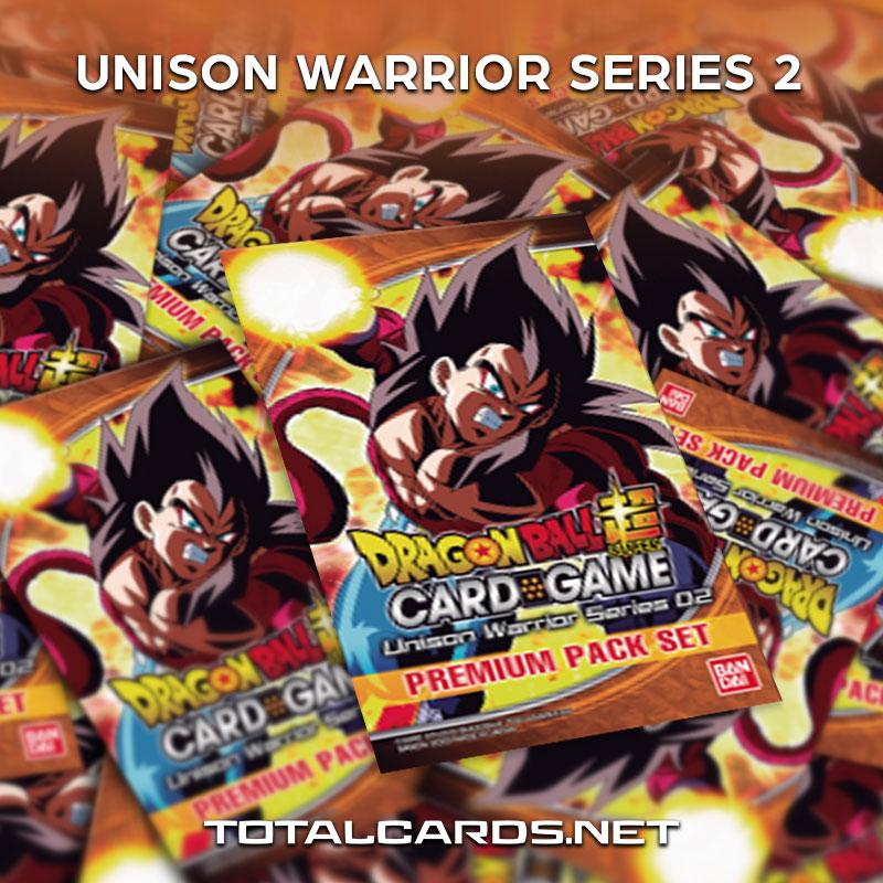 Dragon Ball Super Unison Warrior Series 02 Announced!!!