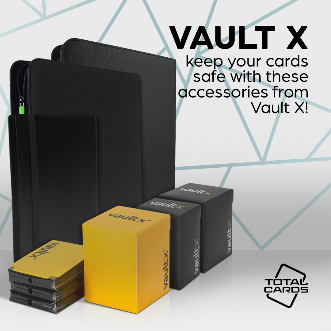 Protect Your Cards With Our New Range of Vault X Accessories