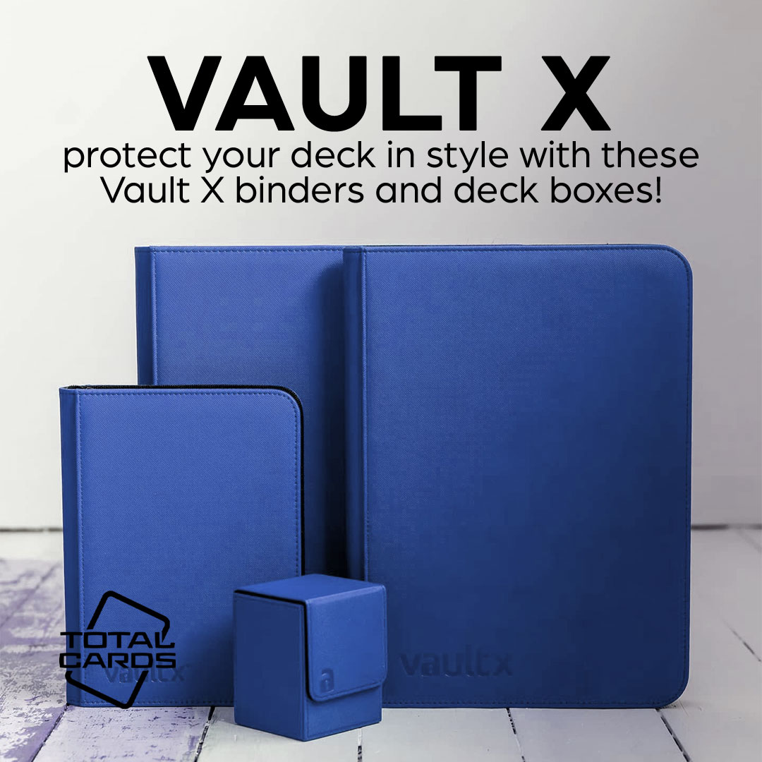 Keep your cards safe with a range of Vault X Accessories!