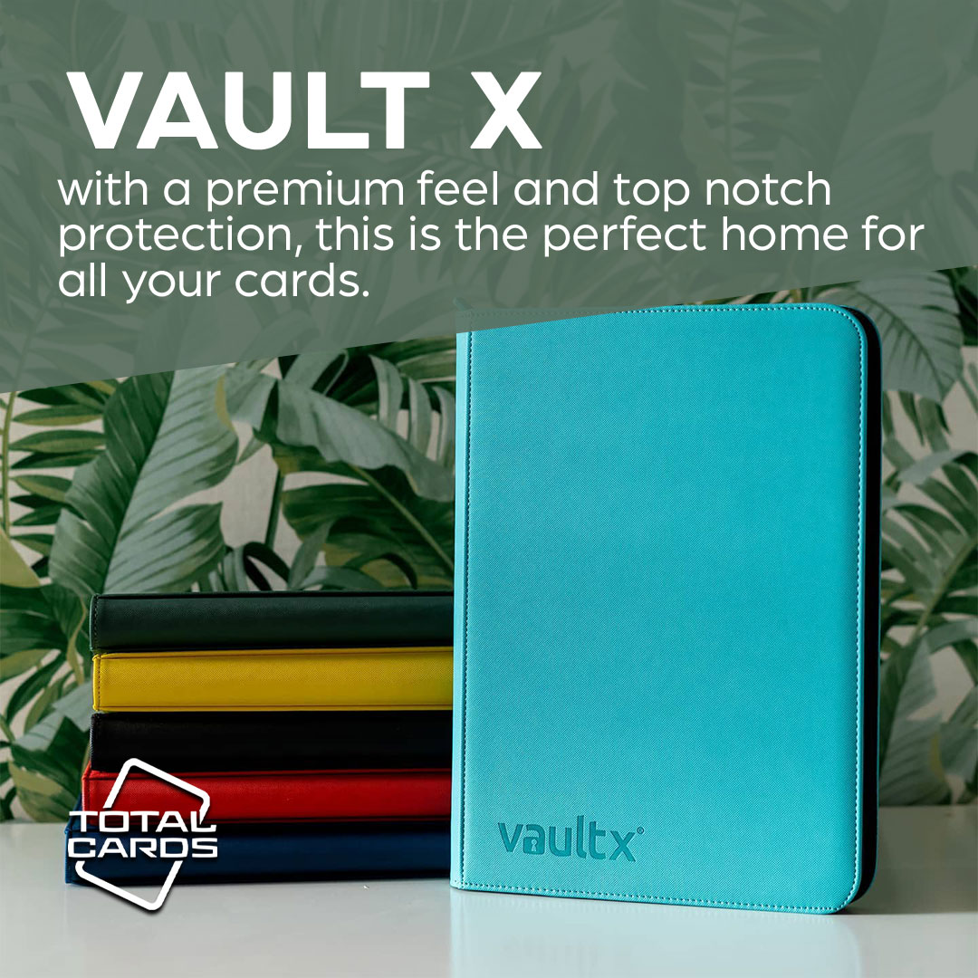 Protect your precious cards with Vault X!